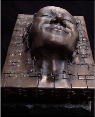 Dreamer bronze sculpture by Daniel Rotblatt